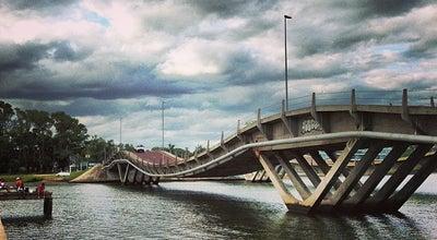 Photo of Bridge Puente Leonel Vieira at La Barra, Punta del Este, Uruguay