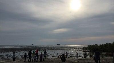 Photo of Beach Jeram at Kuala Selangor, Malaysia