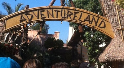 Photo of Theme Park Adventureland at Disneyland Park, Anaheim, CA 92802, United States
