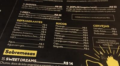 Photo of Burger Joint Pão com Gergelim at R. Artur Enedino Dos Anjos, 60, Joao Pessoa, PB 58046-180, Brazil