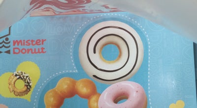 Photo of Donut Shop Mister Donut at Tesco Lotus, Thailand