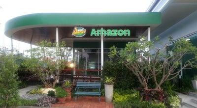 Photo of Coffee Shop Café Amazon (คาเฟ่ อเมซอน) at หน้าวัดไร่ขิง, สามพราน, Thailand