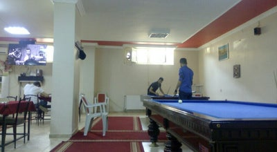 Photo of Pool Hall cafe in at Turkey