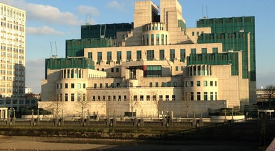 Photo of Government Building MI6 at 85 Albert Embankment, London SE1 7TP, United Kingdom