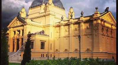 Photo of Art Gallery Art Pavilion (Umjetnicki Paviljon) at Trg Kralja Tomislava 22, Zagreb 10000, Croatia