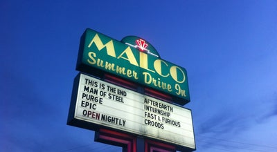 Photo of Movie Theater Malco Summer Drive-In Theater at 5310 Summer Ave, Memphis, TN 38122, United States