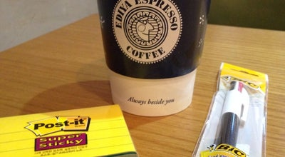 Photo of Coffee Shop EDIYA COFFEE at 진접읍 해밀예당1로 50-88, 남양주시, South Korea
