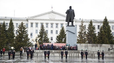 Photo of Monument / Landmark Памятник В. И. Ленину at Центральная Площадь, Kurgan, Russia