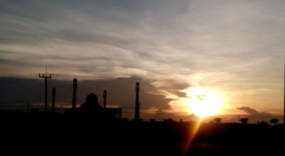 Photo of Mosque มัสยิดกลางประจำจังหวัดสงขลา ( Central Mosque of Songkhla) at ถ.ลพบุรีราเมศวร์, Hat Yai 90110, Thailand