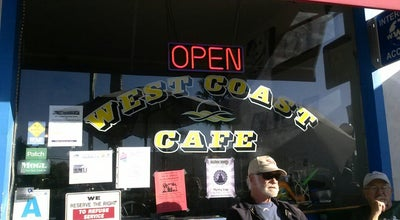 Photo of Cafe West Coast Cafe at 208 Palm Ave, Imperial Beach, CA 91932, United States