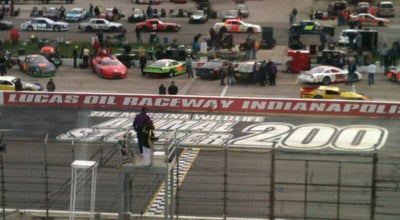 Photo of Racetrack Lucas Oil Raceway at Indianapolis at 10267 E Us Highway 136, Indianapolis, IN 46234, United States