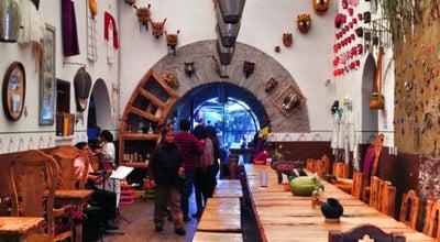 Photo of Mexican Restaurant María y su Bici Choza Asadores at 5 De Mayo 91, Col. Centro Histórico, Querétaro 76000, Mexico