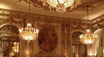 Photo of French Restaurant Restaurant le Meurice Alain Ducasse at 228 Rue De Rivoli, Paris 75001, France