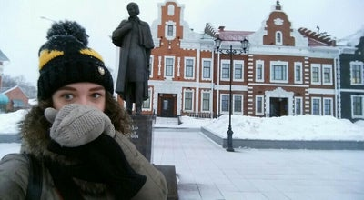 Photo of Monument / Landmark Памятник Н.В. Гоголю at Ул. Гоголя, Йошкар-Ола, Russia