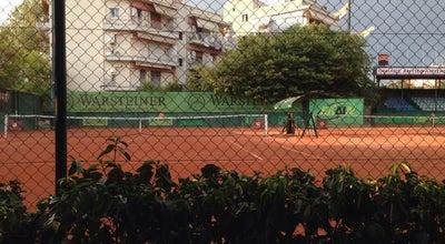 Photo of Tennis Court Όμιλος Αντισφαιρίσεως Θεσσαλονίκης at Πάτμου 16, Καλαμαριά 551 33, Greece