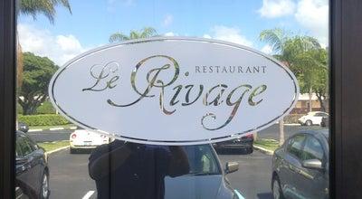 Photo of French Restaurant Le Rivage at 450 Ne 20th St, Boca Raton, FL 33431, United States
