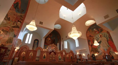 Photo of Church St. Sava Serbian Orthodox Church and Pavilion at 9191 Mississippi Street, Merrillville, IN 46410, United States