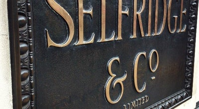Photo of Department Store Selfridges & Co at 400 Oxford St, London, Greater London W1A 1AB, United Kingdom