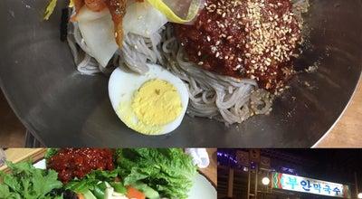 Photo of Korean Restaurant 부안막국수 at 보안길 82, 춘천, South Korea