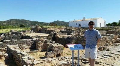 Photo of Historic Site Ruinas de Milreu at Distrito de Faro, Portugal