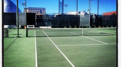 Photo of Tennis Court MIT Du Pont Tennis Courts at Du Pont Tennis Courts, Cambridge, MA 02139, United States