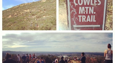 Photo of Trail Cowles Mountain Summit at San Diego, CA 92119, United States