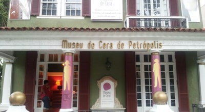 Photo of Art Museum Museu de Cera de Petrópolis at R. Bar. Do Amazonas, 35, Petrópolis 25685-070, Brazil