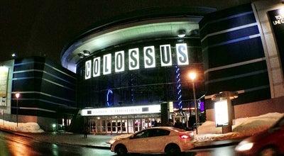 Photo of Movie Theater Cinéma Colossus Laval at 2800 Rue Du Cosmodôme, Laval, QC H7T 2X1, Canada