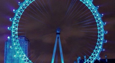 Photo of Monument / Landmark The London Eye at Westminster Bridge Rd, Lambeth SE1 7PB, United Kingdom