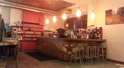 Photo of Cafe Dark Horse Espresso Bar at 682 Queen St. E, Toronto, ON M4M 1G9, Canada
