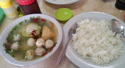 Photo of Breakfast Spot Bakso Ikan Akhiong at Nusa Indah, pontianak, Indonesia