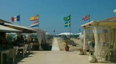 Photo of Beach Bagno Milano at Viareggio, Italy