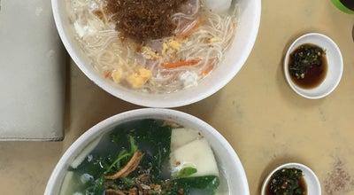 Photo of Chinese Restaurant Kam Sou Chili Pan Mee 金嫂辣椒板面 at 45, Jalan Bunga Pekan 4, Kawasan 6, Banting 42700, Malaysia