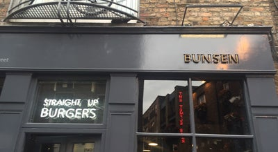 Photo of Burger Joint Bunsen at 22 Essex St E, Temple Bar, Dublin 2, Ireland
