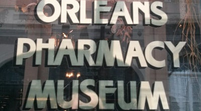 Photo of History Museum New Orleans Pharmacy Museum at 514 Chartres St, New Orleans, LA 70130, United States