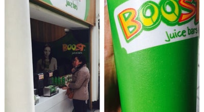 Photo of Juice Bar Boost Juice at Kensington W8 5SF, United Kingdom