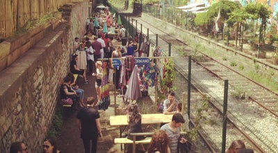 Photo of Beer Garden La REcyclerie at 83 Boulevard Ornano, Paris 75018, France
