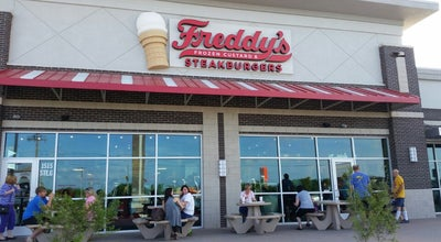 Photo of Burger Joint Freddy's Frozen Custard & Steakburgers at 1515 Hewitt Dr, Waco, TX 76712, United States