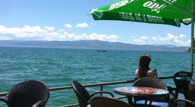 Photo of Cafe Terazza Aquarius at Коста Абраш, Ohrid 6000, Macedonia