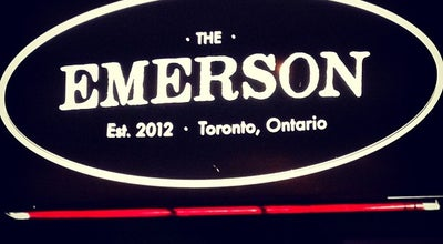 Photo of Gastropub The Emerson at 1279 Bloor St. W., Toronto, ON, Canada