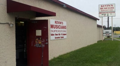 Photo of Rock Club Kevin's Musician Superstore at 5225 Lenox Ave, Jacksonville, FL 32205, United States