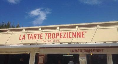 Photo of Bakery La Tarte Tropezienne at Roquebrune-sur-Argens, France