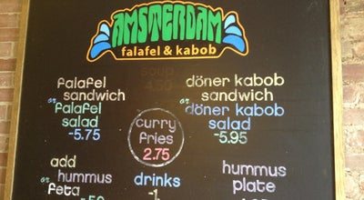 Photo of Falafel Restaurant Amsterdam Falafel & Kabob at 620 N 50th St, Omaha, NE 68132, United States