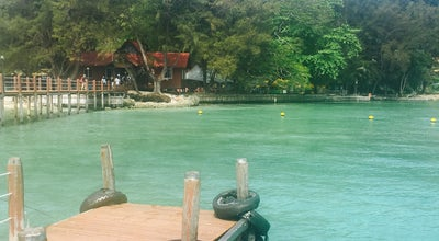 Photo of Beach Pulau Sapi Beach at Malaysia