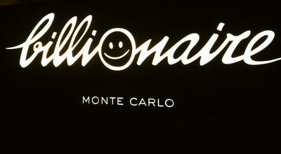 Photo of Nightclub Billionaire Club & Lounge at Place Du Casino, monaco 98000, Monaco