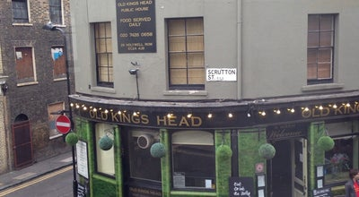 Photo of Pub Old Kings Head at 28 Holywell Row, London EC2A 4JB, United Kingdom