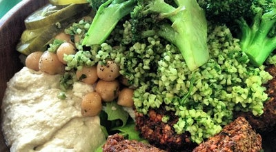 Photo of Falafel Restaurant Maoz Vegetarian at 2047 Broadway, New York, NY 10023, United States