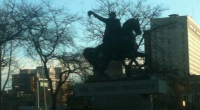 Photo of Outdoor Sculpture General Thaddeus Kosciuszko Statue at Michigan Ave & 3rd St, Detroit, MI 48226, United States