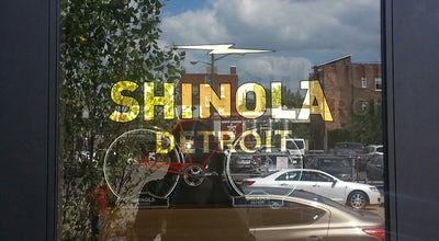 Photo of Jewelry Store Shinola Store Detroit at 441 W Canfield St, Detroit, MI 48201, United States