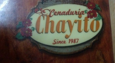 Photo of Mexican Restaurant Cenaduria Chayito at Teniente Azueta, Mazatlán, SIN, Mexico